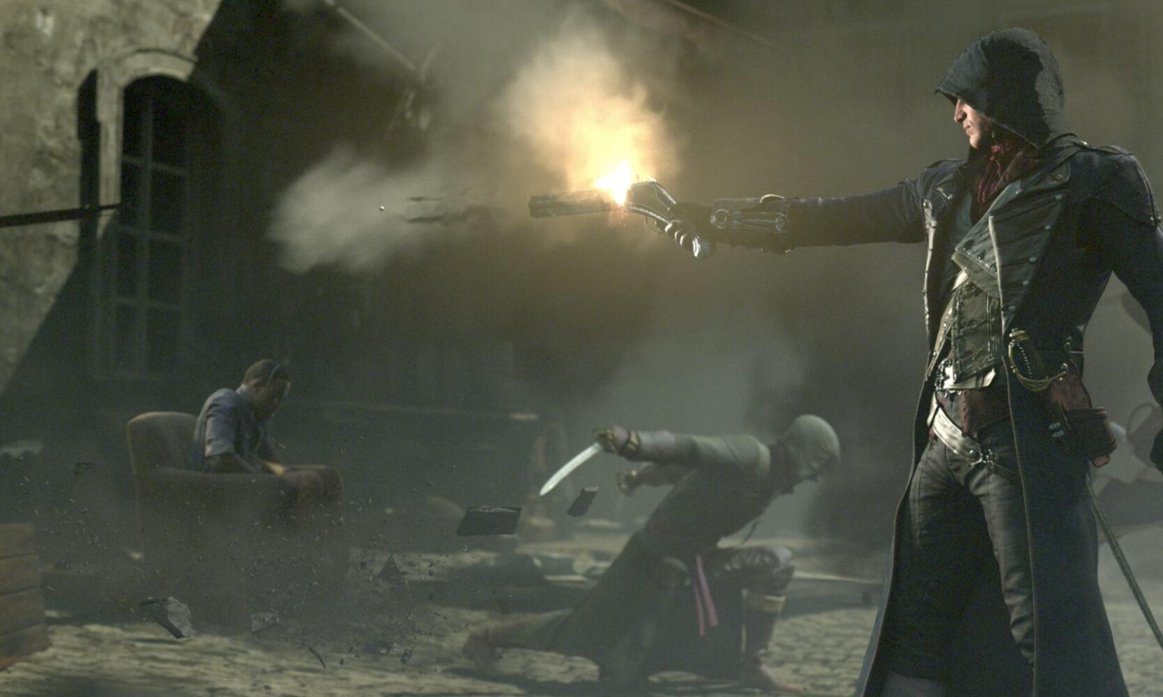 Assassins Unity 3