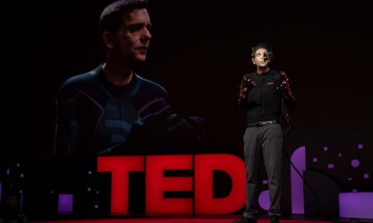 Live on the TED Stage
